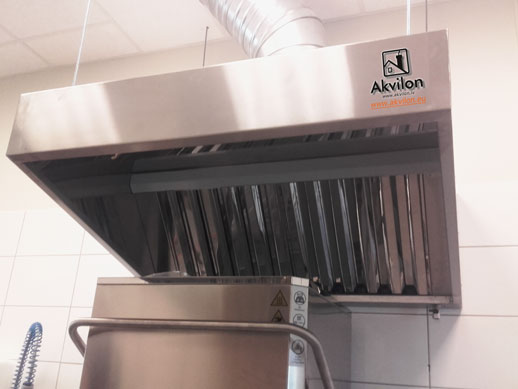 Kitchen Professional Exhaust Hoods With Filters Kitchen
