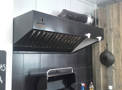 Commercial Kitchen Exhaust Hoods And Industrial Canopies