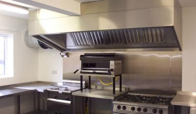 Commercial kitchen exhaust hoods and industrial canopies & Kitchen professional exhaust hoods with filters. Kitchen canopies ...