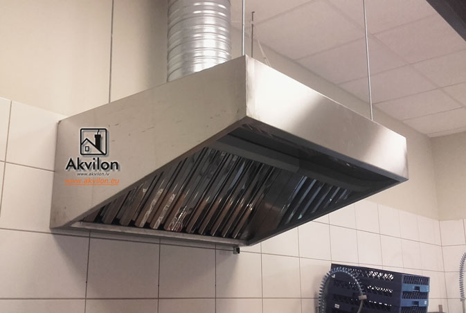 Kitchen Professional Exhaust Hoods With Filters. Kitchen Canopies  Extraction Canopy Island Canopy Industrilal Fume Extraction Hoods.